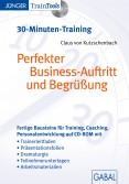 Prefekter Business-Auftritt und Begrüßung