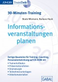 Informations- veranstaltungen planen (30-Minuten-Training)
